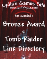 Lydia's Games Site Bronze Award